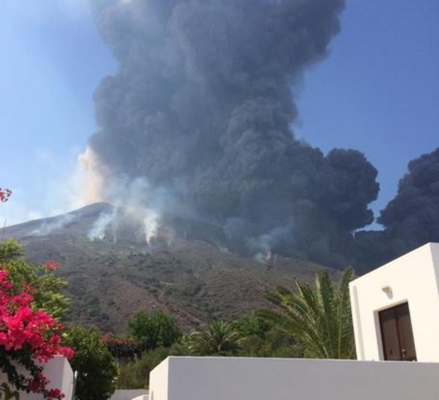 Italy's Stromboli volcano erupts, sparking huge ash cloud