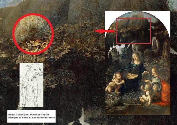 Hidden message discovered in da Vinci masterpiece ... Da Vinci Paintings Hidden Messages