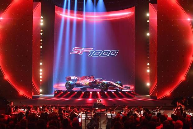 Ferrari unveil SF1000 car for coming F1 season