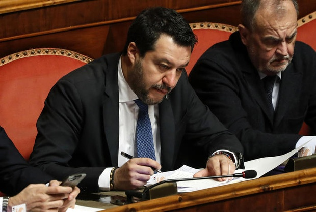 Italian Senate vote on Salvini's immunity follows party lines