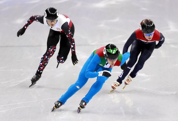 Fontana wins gold in 500m short-track final By