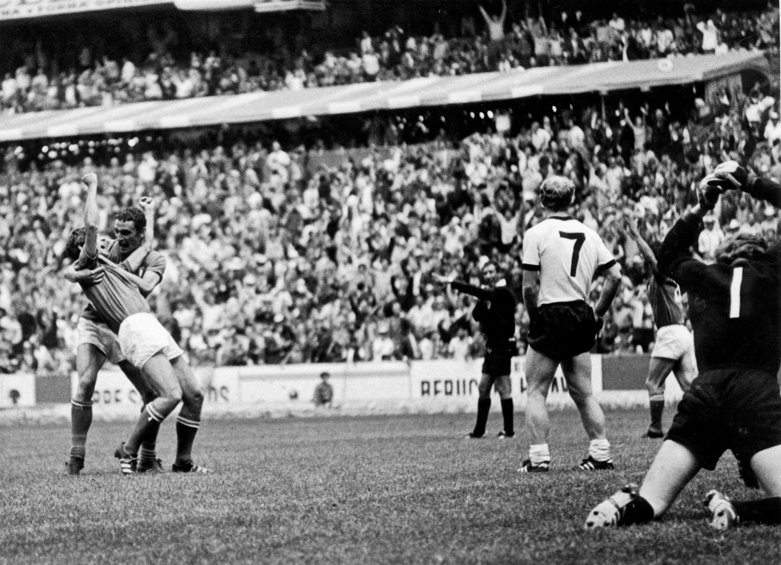 Italy triumphs over Germany in the nail-biting 1970 FIFA World Cup ...