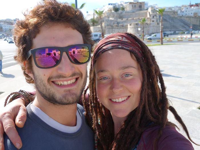 Luca Tacchetto and Edith Blais