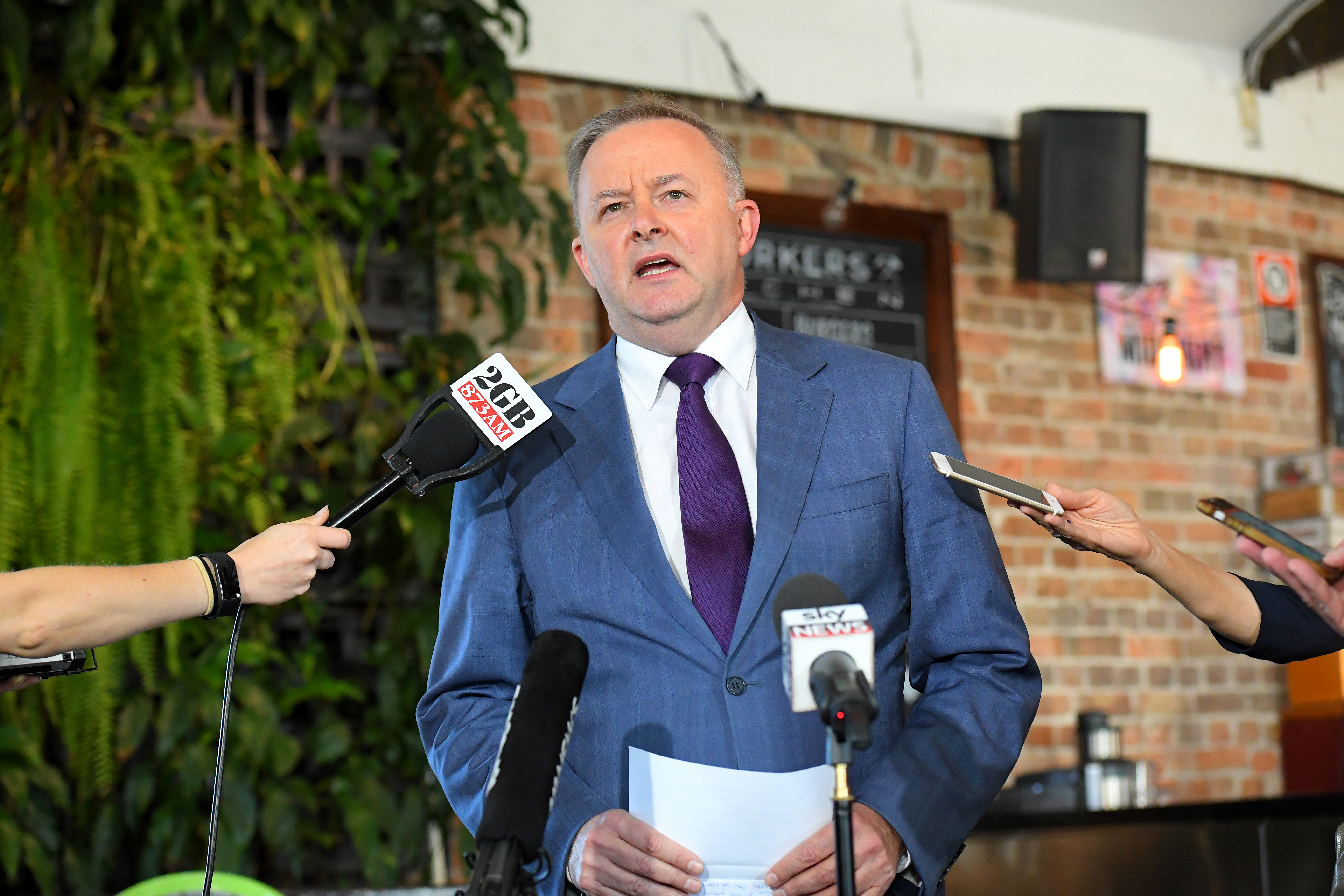 Anthony Albanese makes bid for Labor leadership following