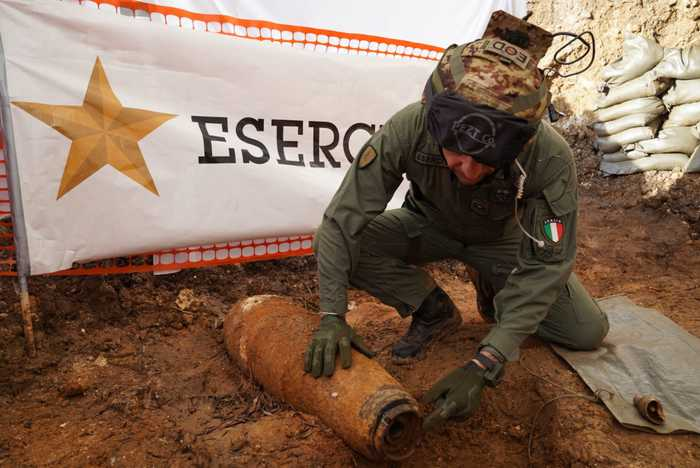 Italian city evacuates 54,000 people to defuse World War Two bomb